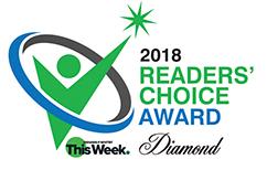 2018 Readers Choice Award Diamond